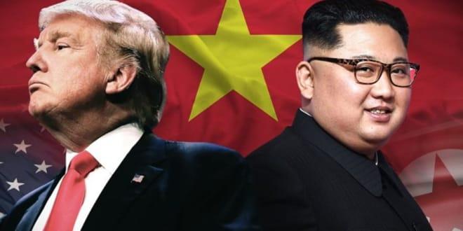 Cuộc gặp đầu tiên giữa ông Trump và Kim Jong-un tại Hà Nội